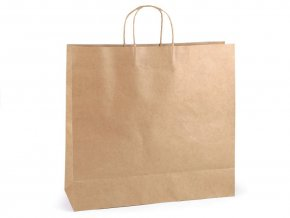 Papírová taška natural 40x43cm