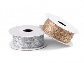 Lurexová šňůrka/provázek Ø1 mm (10m)