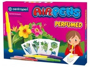 Sada foukacích fixů Centropen AirPens Parfumed