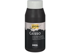 CK85282 SOLOGOYA Gesso Schwarz 750ml