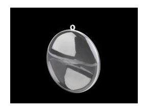 Plastový medailon ?70 mm dvoudílný