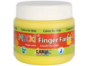 Prstové barvy C-KREUL Mucki (150 ml) - 12 odstínů