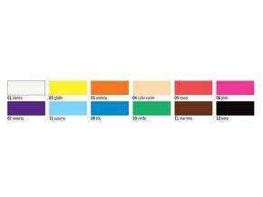 Prstové barvy C-KREUL Mucki (750 ml) - 12 odstínů