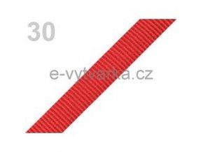 Popruh polypropylén š.20mm (5m) - ohnivá červeň