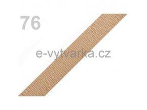 Popruh polypropylén š.20mm (5m) - písková
