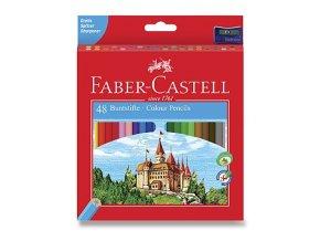 Pastelky FABER-CASTELL (48ks) + ořezávátko