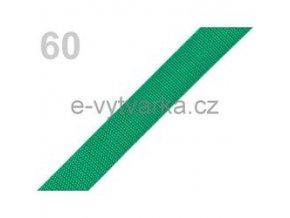Popruh polypropylén š.20mm (5m) - zelená májová