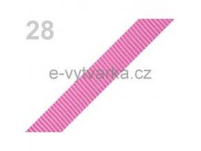 Popruh polypropylén š.20mm (5m) - begonie