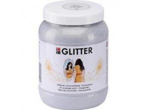 Transparentní akrylová barva Marabu s glitry - 2 odstíny