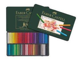 Pastely Faber-Castell Polychromos umělecké křídy 60ks