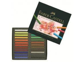 Pastely Faber-Castell Polychromos umělecké křídy 24ks