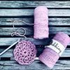 Bobbiny Macrame REGULAR (3mm) - DUSTY PINK