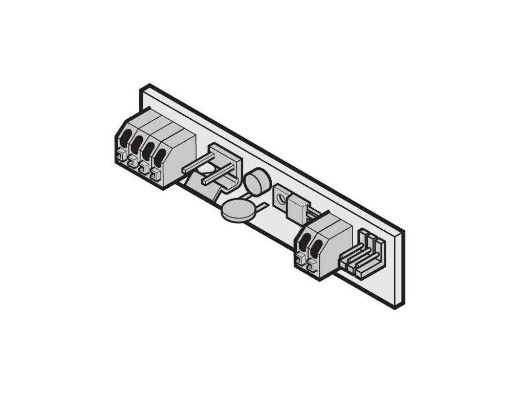 tempmotoranschlussplatine portronic