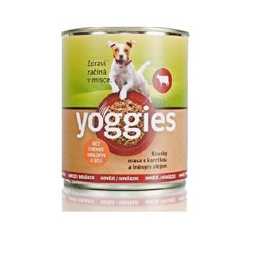 Ochutnali jsme Yoggies hovězí s karotkou a lněným olejem