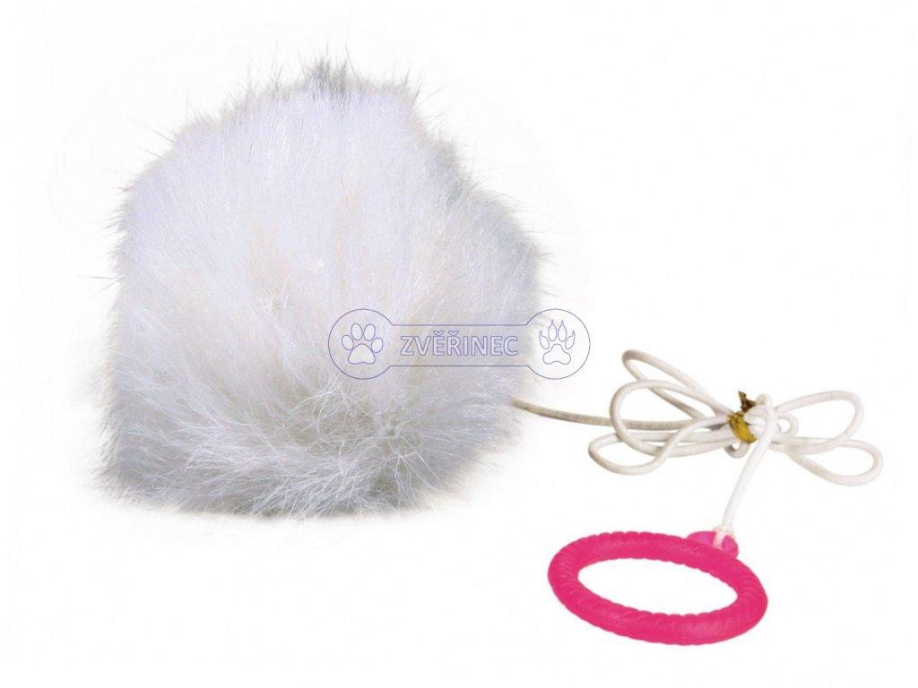 Trixie závěsná chlupatá koule s catnipem