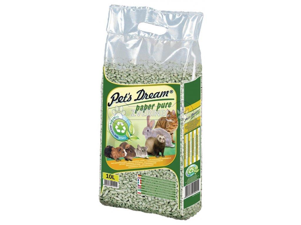 pelety jrs pet s dream paper pure 4 8kg