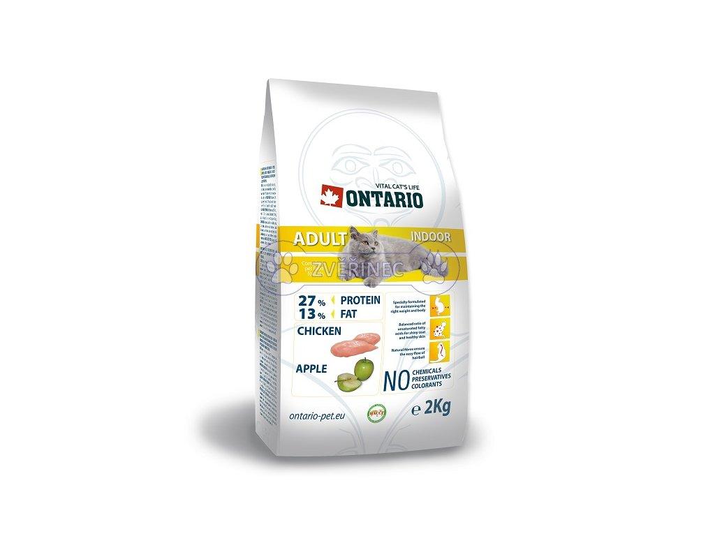 ONTARIO Cat Adult Indoor (2kg)