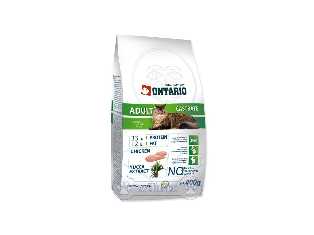 ONTARIO Cat Adult Castrate (400g)