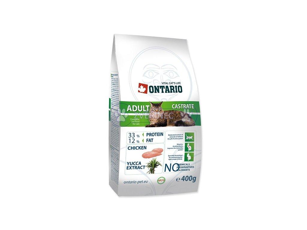 ONTARIO Cat Adult Castrate (400g)
