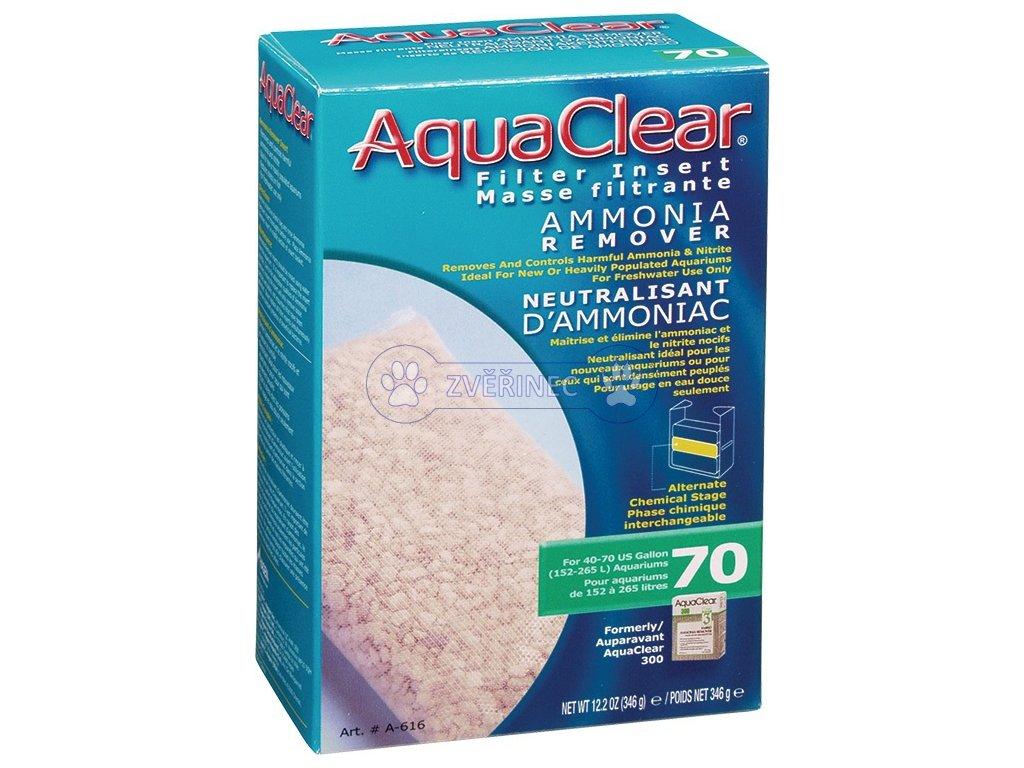 Náplň odstraňovač dusíkatých látek AQUA CLEAR 70 (AC 300) 346 g