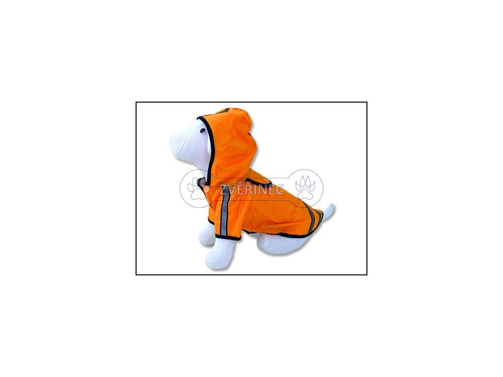 Pláštěnka Dog Fantasy reflexní žlutá 25 cm