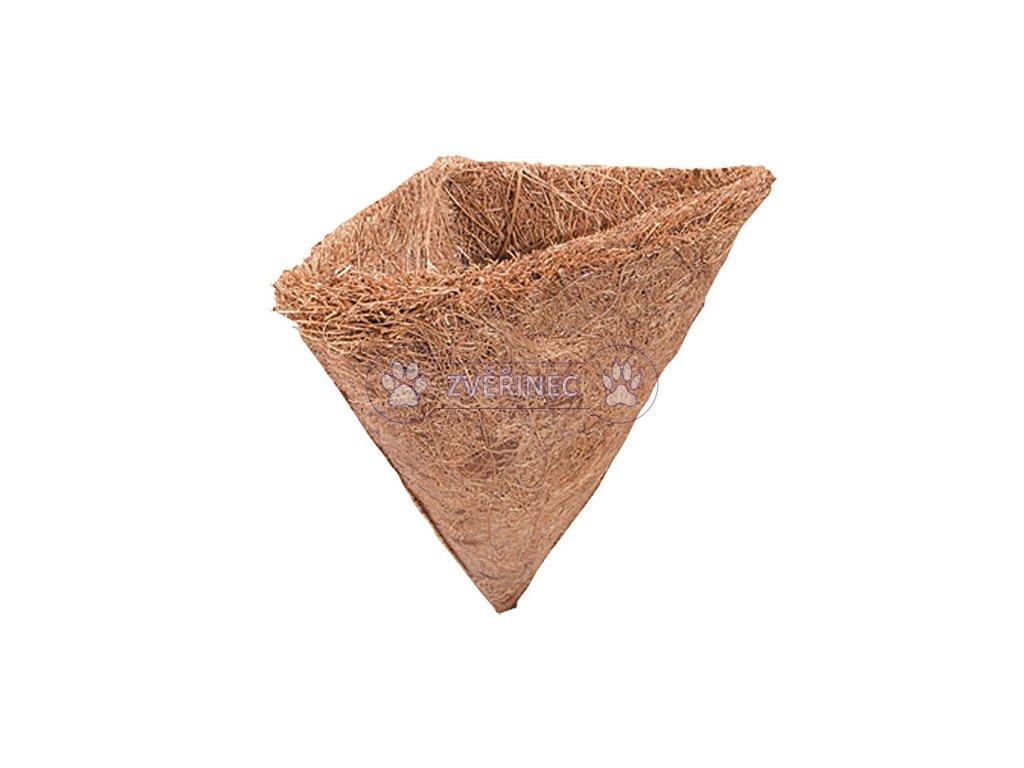 Kokosový domek 10x13 cm