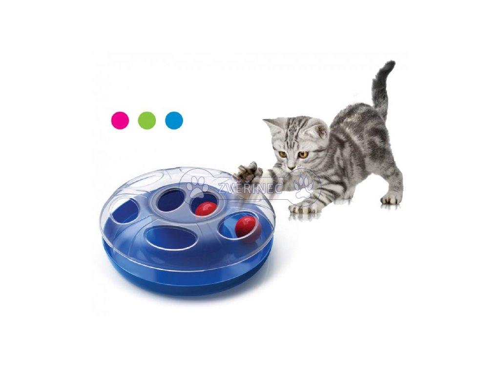 UFO pohyblivá hračka pro kočky