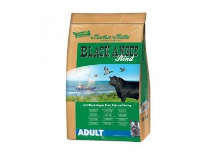 black angus adult 15kg granule lisovane za studena hovezi maso