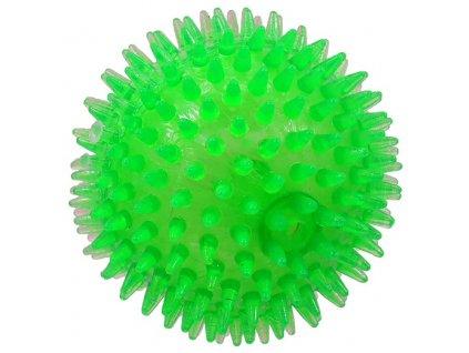 hračka dog fantasy míček pískaci zelená 10cm