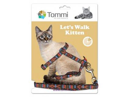 Tommi postroj kotě