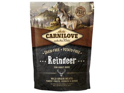 carnilove reindeer for adult 1 5kg original