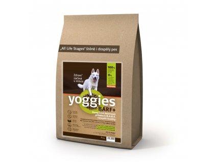 Yoggies BARF+ příloha k syrovému masu, lisovaná za studena, 4kg