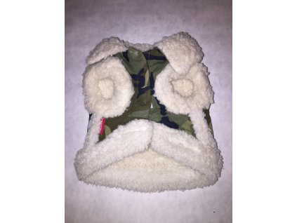 DoggyDolly Green camouflage jacket 21 cm