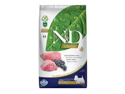 N&D adult lamb&blueberry 2,5 kg