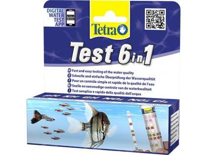 Tetra Test 6in1, 25 ks