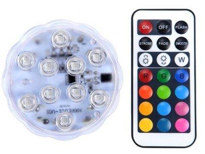 LED světlo ponorné kruhové