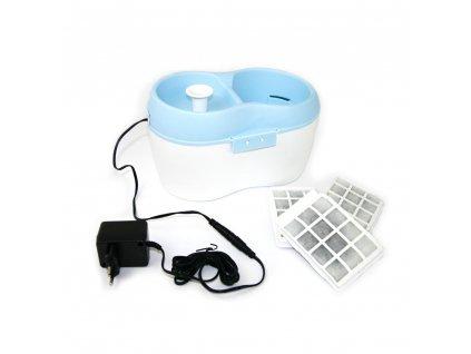 Fontána H2O pro kočky a malé psy adaptér 12V