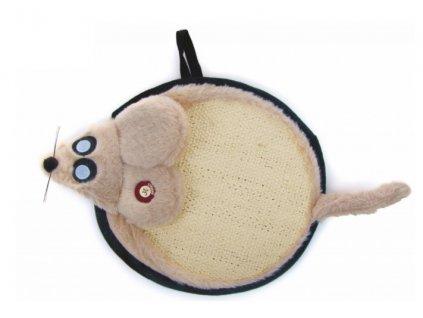 JK Animals Sisalové škrabadlo myš 45 cm
