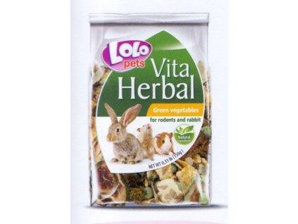 LOLO Vita herbal zeleninové plátky 150 g