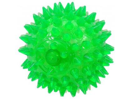 hracka dog fantasy micek piskaci zelena 8cm