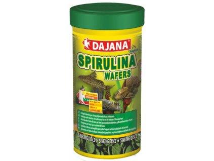dajana spirulina wafers tablety 250ml