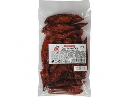 granum cili papricky 20g doplnkove krmivo