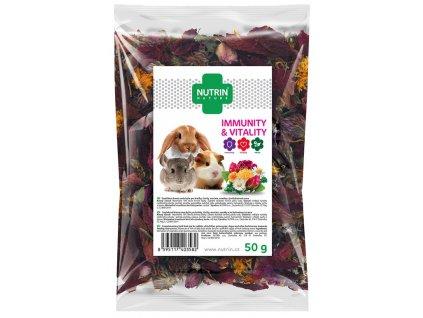 Pamlsek NUTRIN Nature Immunity & Vitality pro hlodavce 50 g