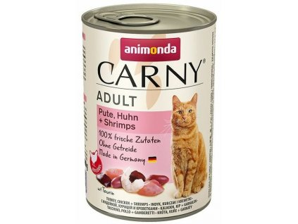 Carny adult krůta&kuře&garnát 400 g