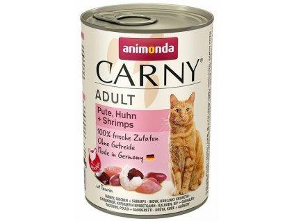 Konzerva ANIMONDA Carny adult krůta&kuře&garnát 400 g