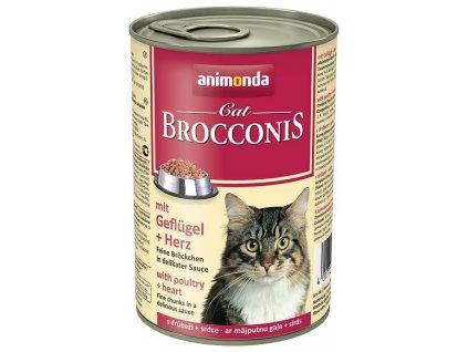 konzerva animonda brocconis drubez srdce 400g
