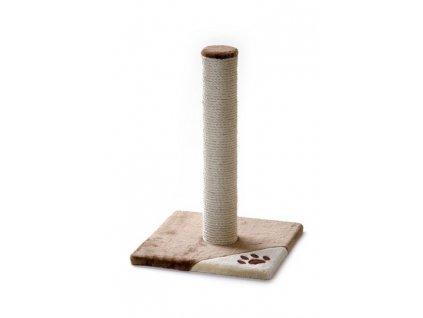 k animals skrabadlo pro kocky caty medium 36 36 52 cm bezova hneda 1