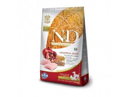 N&D Low Grain DOG Light S/M Chicken & Pomegr 800 g