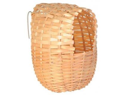 hnizdo pro ptaky bambusove trixie 12x15cm