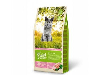 sams field cat sterilised superpremiove granule pro kastraty 7 5 kg 1
